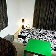 IKEA 布団カバーのインテリア実例写真
