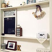 DIY/黒板/マスキングテープ 壁/ハンドメイド/一人暮らし/クリスマス…などに関連する他の写真
