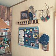 重曹/Bathroom/サニタリー/そうだわ!棚にアレつけよう(笑)/棚を作りました…などに関連する他の写真
