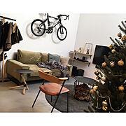 a.depeche/duende/IKEA/クリスマスツリー/吹き抜けのある家/クリスマス…などのインテリア実例