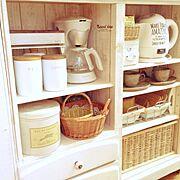 DIY/雑貨/100均/セリア/いつもいいね!ありがとうございます♪/キッチンカウンター…などのインテリア実例
