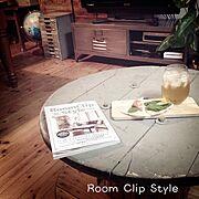 ついにきたーー!!!!/TVボード❤︎/ビールに氷!/飲兵衛部/RoomClipStyle/Lounge…などのインテリア実例
