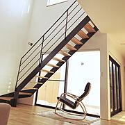 IKEA/初投稿/リビング階段/アイアン手摺/吹き抜け/漆喰…などのインテリア実例