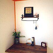 一階和室/仕事部屋/edenちゃん♥︎/hanamamaちゃん♡/植物/リメイク…などのインテリア実例
