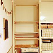 DIY/端材消費/ディアウォール/My Shelf…などのインテリア実例