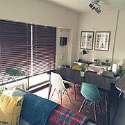 KEYUKA/a.flat/DSW/キッチンカウンター/IKEA/seria…などのインテリア実例