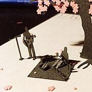 桜のインテリア実例