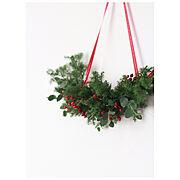 クリスマスのインテリア実例