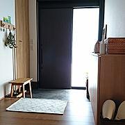 玄関マットのインテリア実例