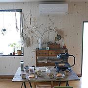 おうちカフェのインテリア実例