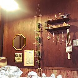 玄関/入り口/セリアの雑貨/セリア/雑貨/100均...などのインテリア実例 - 2019-01-28 01:22:04