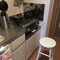 キッチン/商店街/キッチンスツールのインテリア実例 - 2018-03-20 23:06:30