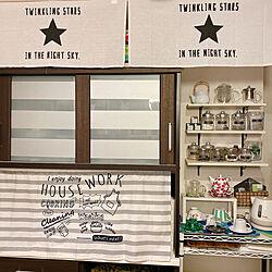 ニトリ/ティーカップ & ソーサー/ティーポット/キッチン雑貨/キッチン収納...などのインテリア実例 - 2020-05-31 22:12:22