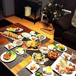 リビング/カッティングボード/tomoちゃん/クリスマス料理/cooking...などのインテリア実例 - 2016-12-24 22:37:28