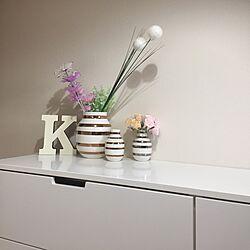 ベッド周り/IKEA/ケーラー オマジオ/雑貨/フェイクグリーン...などのインテリア実例 - 2016-01-04 16:23:38
