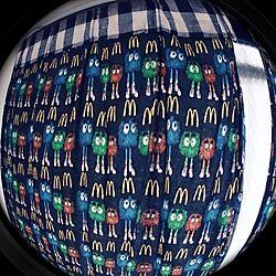 ベッド周り/手作り/カーテン/マクドナルド/チェック柄のインテリア実例 - 2013-11-12 15:02:40
