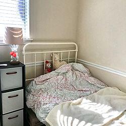 ベッド/子供部屋/ナチュラル/照明/明るい部屋...などのインテリア実例 - 2020-01-25 05:07:52