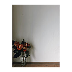 玄関/入り口/玄関ディスプレイ/椿の花/リフォーム/リノベーション...などのインテリア実例 - 2018-12-26 14:55:12