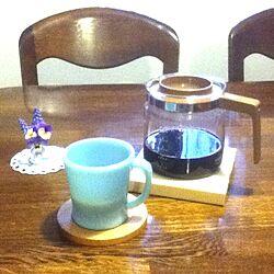 机/コーヒーポット/注ぐ物/古いもの/庭のお花のインテリア実例 - 2013-03-24 07:31:03