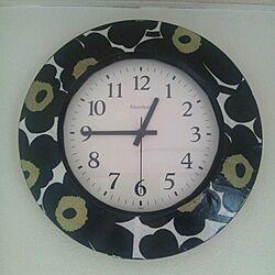 リメイク掛け時計のインテリア実例 - 2013-10-12 12:49:44