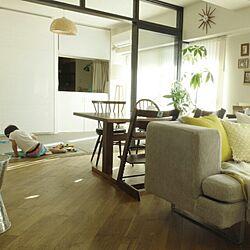 中古を買ってリノベーション/リノベーション/無垢の床/和室/IKEA...などのインテリア実例 - 2015-08-22 20:48:56
