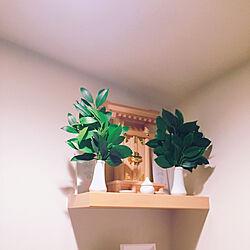 棚/インテリア/サカキが元気/サカキ/神棚...などのインテリア実例 - 2018-07-08 23:19:08