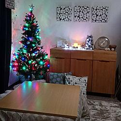 リビング/クリスマス/団地住まい/クリスマスツリー/北欧...などのインテリア実例 - 2018-11-06 13:40:00