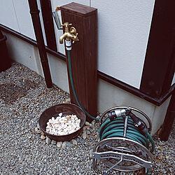 バス/トイレ/一人暮らし/ねこのいる日常/立水栓DIY/猫と暮らす。のインテリア実例 - 2021-07-04 18:58:05