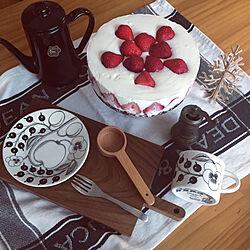 柄にもなく/DEAN&DELUCA/ケーキ作り/アラビア パラティッシ/輸入住宅...などのインテリア実例 - 2020-05-07 18:53:37