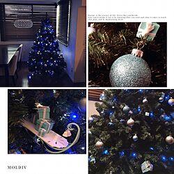 リビング/TIFFANY&Co./ティファニー/クリスマスツリー/クリスマス...などのインテリア実例 - 2016-11-26 21:57:41