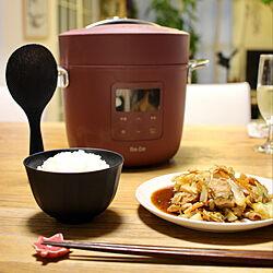 炊飯器/ごはん/家電/電気圧力鍋/お洒落家電...などのインテリア実例 - 2020-08-31 19:43:56