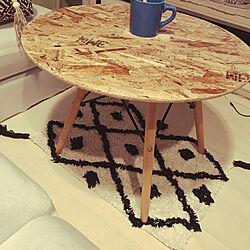 ベニワレン 風/テーブルリメイク中〜/テーブルdiy/ハンドメイド雑貨/一軒家...などのインテリア実例 - 2020-09-13 23:38:06