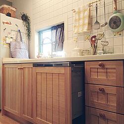 キッチン/食洗機/ウッドワンのキッチン/ウッドワン スイージーのインテリア実例 - 2019-10-23 14:47:52
