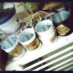 yunari koubou/リメ缶♡/はじめて/さりーちゃん家/リメ缶講座のインテリア実例 - 2014-04-16 23:23:06