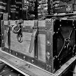 古い鉄風/アンティーク風/トランク型BOX/トランクボックス/トランク型収納...などのインテリア実例 - 2020-08-09 23:09:35