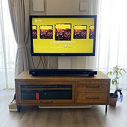 サウンドバー/テレビスタンド/テレビボード/リビングのインテリア実例 - 2020-08-22 14:55:48