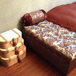 ベッド周り/輸入家具/アンティーク/ジェニファーテイラー/収納...などのインテリア実例 - 2014-04-02 16:10:55