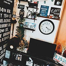 DIY/diy shelf/男前インテリア/アンティーク風/テレビ周り...などのインテリア実例 - 2019-06-01 06:38:57