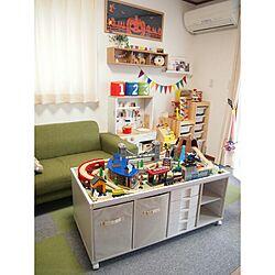 子供部屋/DIY/カラーボックスのインテリア実例 - 2015-01-08 22:21:35