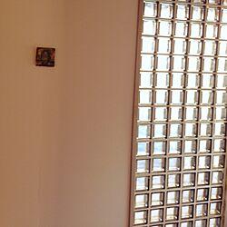 玄関/入り口/絵/ブロックガラス/アンティーク/雑貨のインテリア実例 - 2015-05-26 06:47:35