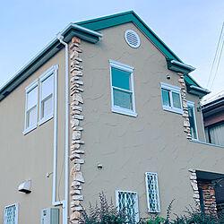 イギリス/プロヴァンス/海外風/緑の屋根/ウインドウトリートメント...などのインテリア実例 - 2020-09-14 09:17:57