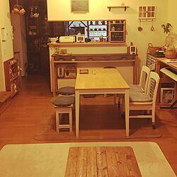 部屋全体/DIY/すのこ/かご/ホーロー...などのインテリア実例 - 2016-12-22 08:42:47