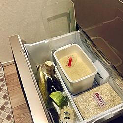キッチン/ライスストッカー/米びつ/ソロエルスマート/野菜室で保存...などのインテリア実例 - 2021-01-27 00:23:11