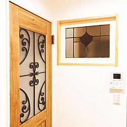壁/天井/ガラス/無垢の家/ナチュラル/無垢や天然木が好き...などのインテリア実例 - 2018-08-30 17:35:54