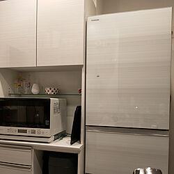 キッチン/一人暮らし/冷蔵庫/ねこと暮らす。/買ってよかったもの...などのインテリア実例 - 2021-05-16 20:44:12