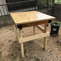 作業台/ガーデンのインテリア実例 - 2021-04-23 00:27:42