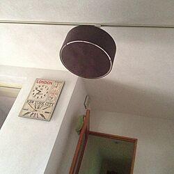 壁/天井/ウォールクロック/照明のインテリア実例 - 2013-06-25 09:40:28