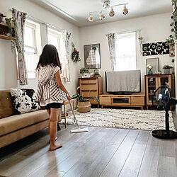リビング/お掃除記録/快適/クイックル/クイックルしやすい部屋...などのインテリア実例 - 2021-08-04 18:10:52