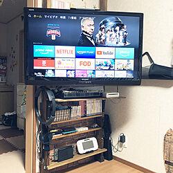 ディアウォール/ゲーム機収納/DIY/ワトコオイルダークウォルナット/2×4材...などのインテリア実例 - 2020-08-23 23:31:24