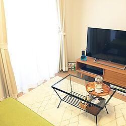 机/テレビボード/ソファ/ローテーブル/ガラステーブル...などのインテリア実例 - 2019-01-14 10:34:45